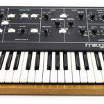 Johannes sein erster Moog-Synthesizer